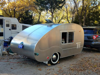 The Handmade Teardrop Trailer – Design and Build a Classic Tiny